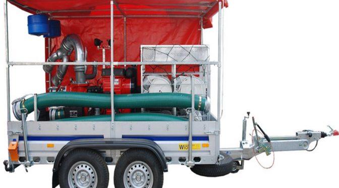 Profesjonalne pompy do odwadniania dla straży pożarnej.