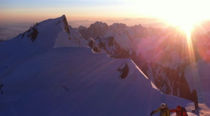 Przystępne wycieczki na Mont Blanc